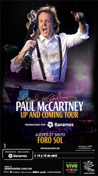 Pual McCartney in Mexico