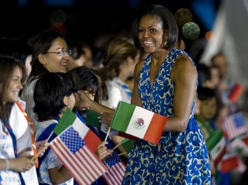 Michelle Obama in Mexico